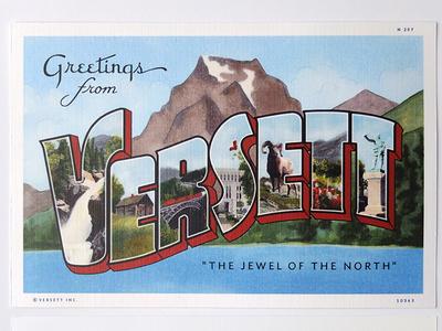 Versett: The Jewel of the North Postcard