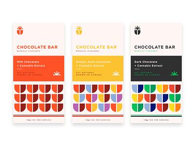 Edibles Packaging Design edibles medicinal chocolate weed marijuana packaging