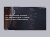 V// Homepage Redesign