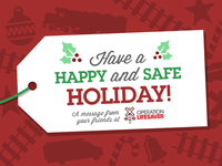 Operation Lifesaver Holiday Banner
