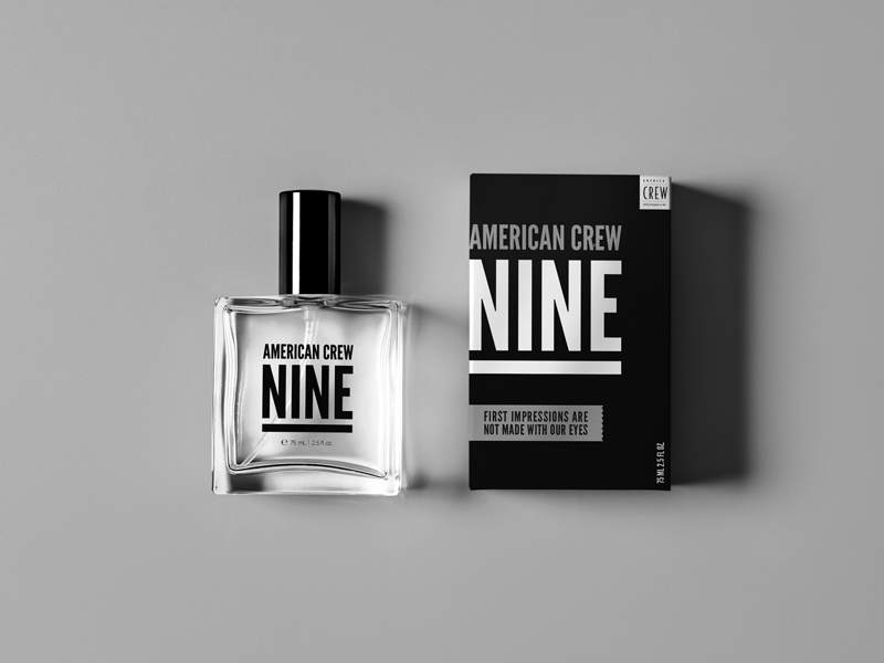 American Crew Fragrance packaging cologne fragrance