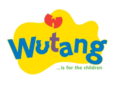 Wutang is for the Children lettering