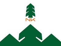 NK landscaping logo