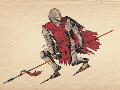 Knight with Spear