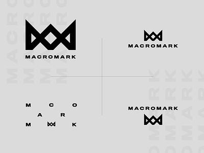 Macromark Logo Lockups logo lockups corporate brand branding logotype crown identity design corporate identity corporate branding logo