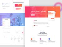 White Paper Landing Page