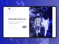 Friends Forever UI Concept