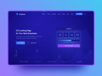 Kryptova ICO Landing Page