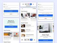 Online Learning App Design Concept