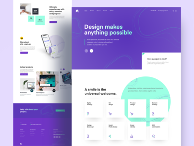 Digital Agency Landing Page