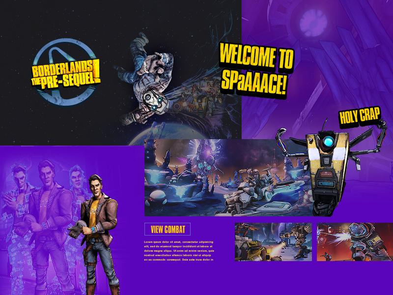 Borderlands Presequel Concept Preview Thumbnail by Daniel