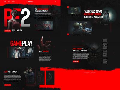 Resident Evil 2 Concept - Mocktober 2019