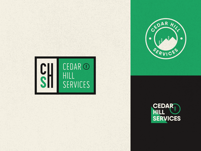 Cedar Hill Services - Logo design
