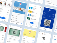 Google Pay Design System wallet app wallet payments ui library uiux ui product design product mobile payment library designs google design system design component library component app