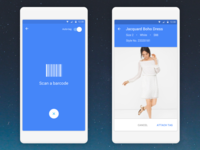 Barcode scanning app for Google