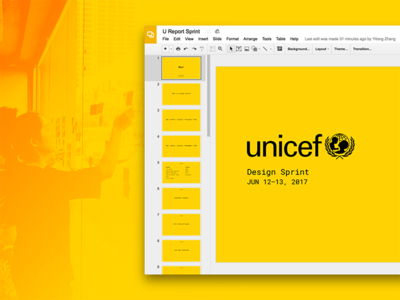 UNICEF Design Sprint