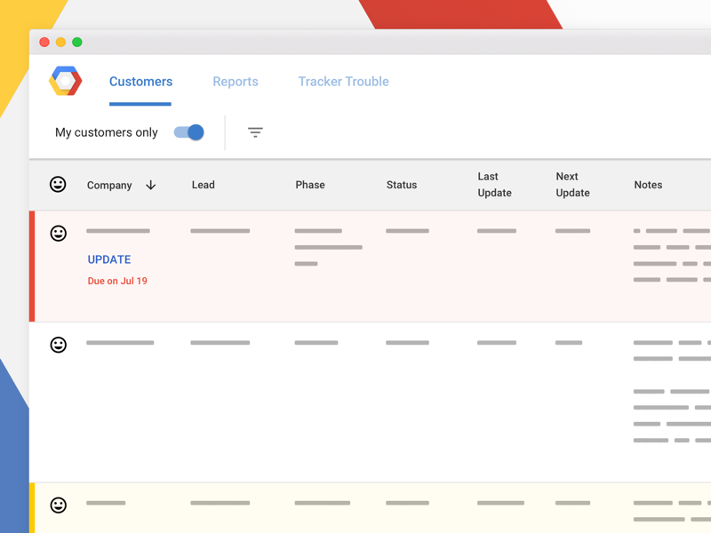 A Secret Google Thing dataviz google material design information design table visual design product design ux design ui design