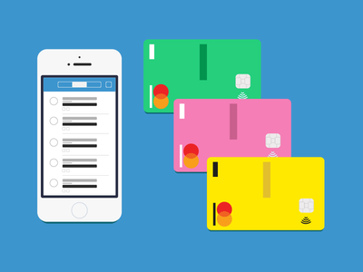 Venmo Card(s)! product critique product app cards card illustration graphic venmo