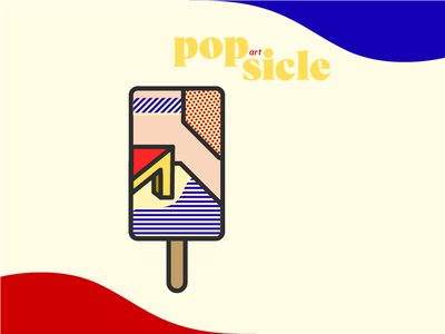 pop(art)sicle 3 summer ice cream popsicle popart pop art pop