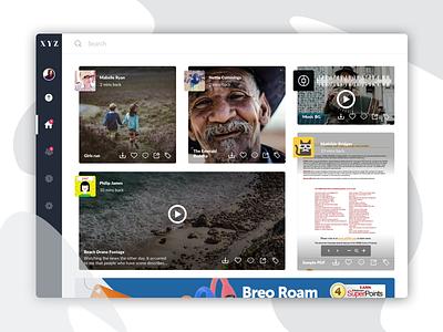 A File Sharing Application shareaudio shareimage sharevideo sharepdf visualdesign design mvp concept ideation webapp filesharing