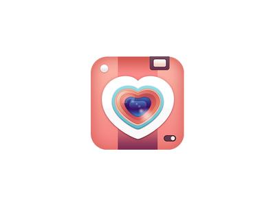 iPhone selfie app icon