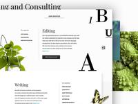 Scientific Copywriting website