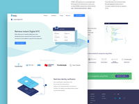 Fintech Product page