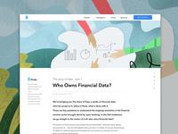 Blog header illustration