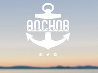 Anchor Landing Page