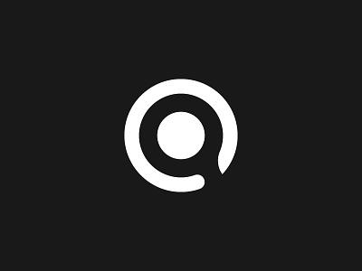 aCreative. Logo & First Shot minimal clean design logo identity brand monochrome personal logo welcome player new hellodribbble