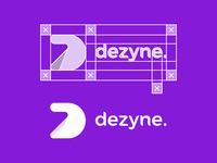 Dezyne Logo & Wordmark