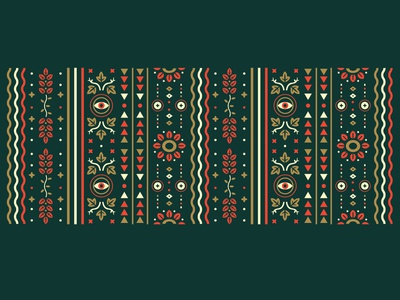 Pitter Pattern abstract pattern geometric illustration