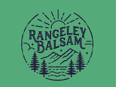 Rangeley Balsam logo
