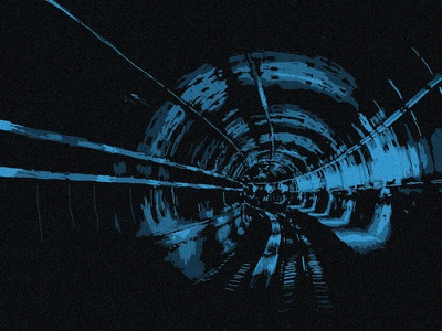 Subway Tunnel subway tunnel out last illustration