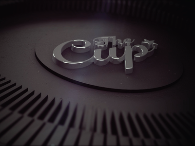 The Cup motion graphics cinema 4d c4d render 3d