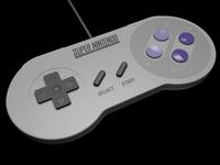 SNES Controller model