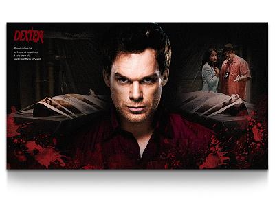 Dexter ux ui dexter visual photo retouch post production production movie poster