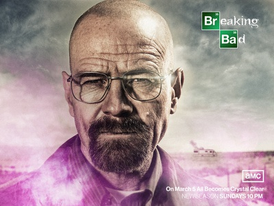 Breaking Bad - Walter White Before/after web design visual heisenberg ui tv series walter white making of graphic fan art digital art character breaking bad