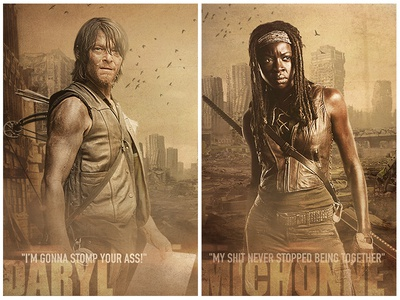The walking dead Character Close Up 2