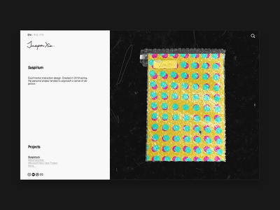Project Page - Web2 grid design poster cover-design layout web design website