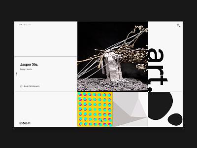 Home Page - Web Design homepage cover-design poster grid layout grid design website design web design website