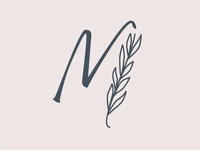 Monogram wedding monogram variant branding brand identity logo