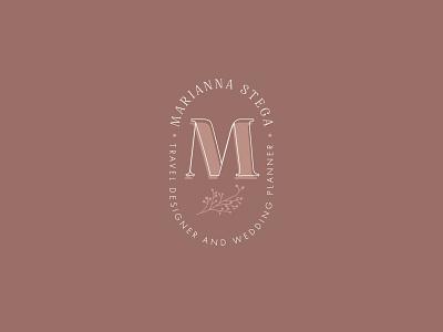 Unchosen proposal monogram wedding palette brand design branding brand identity logo