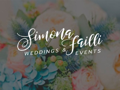 Simona Failli Brand design brand design wedding logo