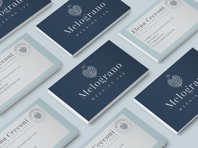 Business cards wedding planner logo brand identity wedding