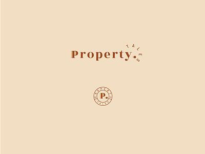 Unchosen logo for Property Tales brand identity ohmybrand variant real estate logo