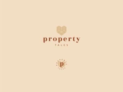 Unchosen logo variant brand identity real estate geometric heart logo