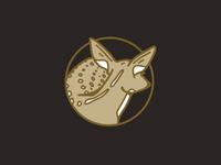 White tail logo concept 3