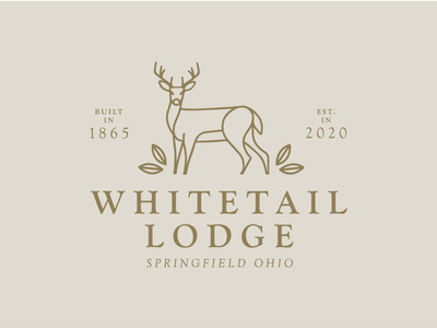 Whitetail Lodge final logo