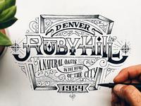 Ruby Hill Sketch